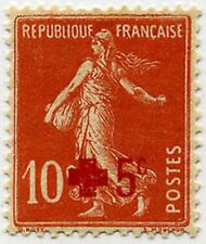 "FRANCE STAMP TIMBRE 146 "" CROIX ROUGE SEMEUSE FOND PLEIN +5c S.10c "" NEUF x TB"