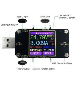 MakerHawk USB Power Meter Tester Bluetooth USB tester