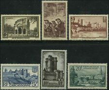 France Scott  #342 - #347 Set of 6 Mint