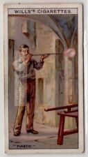 """The Word """"Fiasco"""" From Poorly Glassbown Venitain Glass 80+  Y/O Ad Trade Card"""