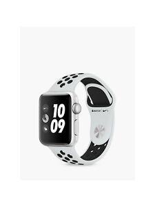 Apple Watch Nike+ 42mm Silver Aluminium Case with Pure Platinum/Black Nike...