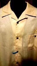 ~!Men's Polo yellow Passion Button Front dress Shirt.pocket Las Vegas.XL,XLarge~