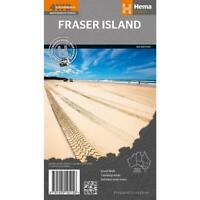 Fraser Island Map Hema   New. Latest edition Priority post