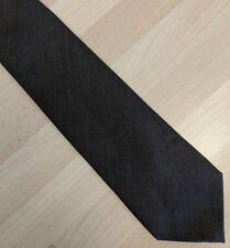 Pour Élégant Marron Laine Mélangée Cravate Marks And Spencer M&S