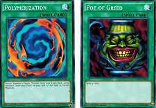 Polymerization + Pot of Greed YGLd 1st YUGIOh
