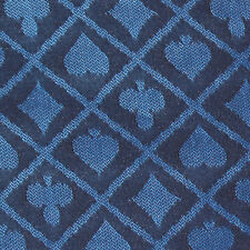 10' Section of Blue Two-tone Poker Table Speed Cloth Casino Grade Gaming