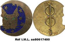 Esc. de Chasse Tout Temps 12- 30, lynx aux yeux verts, émail, Drago 617(7130)