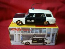 Dinky Toys 507 P Atlas F Simca 1500 Break Police Neuf Boite