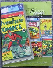 Heritage Comics Signature Auction Catalog #807