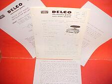 1960 CHEVROLET IMPALA BELAIR BISCAYNE EL CAMINO DELCO GM RADIO SERVICE MANUAL 1