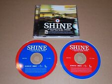 Shine - A Decade Of UK Indie (2xCD) Oasis Stone Roses Depeche Mode Prodigy Pulp