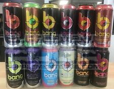 VPX Bang Energy Drink Variety Pack 12 Cans Free/Fast Shipping New *Flavors Vary*
