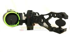 Black Gold Ascent Assault Single Pin Micro Bow Adjustable Sight Right Hand Ava1