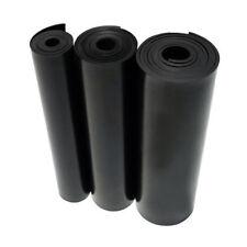 BLACK SOLID NEOPRENE RUBBER SHEET