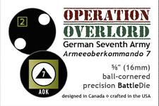 ASL - D-Day Series – German 7th Army (1 Die) – 16mm Precision Battle Dice