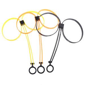 1Pc Kunststoff Double Flex Manschette Einweghandschellen Reißverschluss NylonBOD
