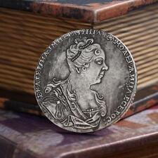 RUSSIA 1725 MONETA ROUBLE IMPERO ZARISTA COMMEMORATIVA RUSSIAN EMPIRE COIN ZARE