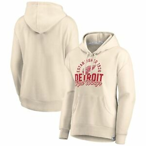 Detroit Red Wings Fanatics Branded Women's Carry the Puck Pullover Hoodie