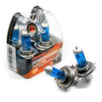 4 X H4 P43t Ampoules Voiture Lampe Halogène 6000K 60/55W Xenon 12V