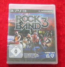 Rock Band 3, PS3 PlayStation 3 Spiel, Neu, deutsche Version