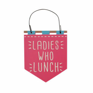 Ladies Who Lunch Hanging Plaque - Cracker Filler Gift | Cracker Fillers & Gifts