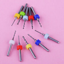 10pcs 1.1-2.0mm Carbide Micro Drill Bits Router PCB CNC Jewelry Rotary Tool Kit