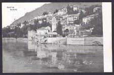COMO BLEVIO 03 LAGO Cartolina viaggiata 1907