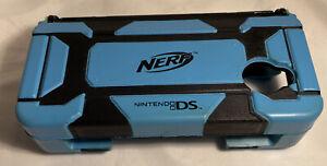 Nintendo 3DS NERF Protective Armor Case Hasbro BLUE / BLACK
