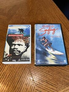 THE HISTORY OF AUSTRALIAN SURFING Plus  Quicksilver Pro Fiji On VHS VIDEO