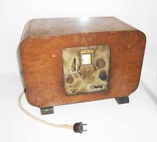 Old Tube Radio Lumophon W300 Vintage Radio Wooden Housing 1930er 1940er
