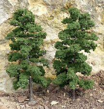 8-STÜCK Jordan Bäume LAUBBÄUME mit Fuß 18cm hoch zum SONDERPREIS          2L-4