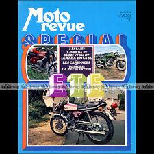 MOTO REVUE N°2083 YAMAHA 200 CS5E LAVERDA SF 750 MOTOBECANE X1 SUZUKI RV 90 1972