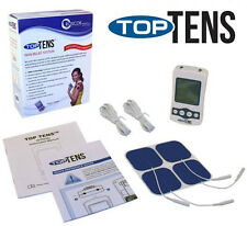 Top Tens OTC Pain Relief  Electrotherapy Unit  4 EXTRA GEL PADS Over The Counter