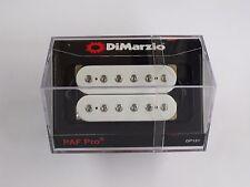 DiMarzio REGULAR SPACED PAF Pro Humbucker White W/Chrome Poles DP 151