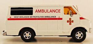 Matchbox super kings large scale Dodge K38 West Midlands Ambulance