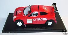 UNIVERSAL HOBBIES  CITROEN ZX RALLYE RAID 1992 1/43 IN BLISTER BOX