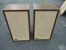 """New ListingRare Vintage Pair of Advent 1 Loud Speakers 10"""" Woofer 3"""" Tweeter"""