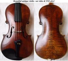 BEAUTIFUL RARE OLD DA SALO VIOLIN ANTIQUE - VIDEO - バイオリン скрипка 小提琴 179