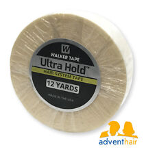 "Ultra Hold Tape Roll 1"" x 12 yds WALKER lace wig toupee hairpiece"