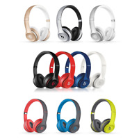 Beats by Dre Solo 2 WIRED ✤ WIRELESS On Ear Headphones BLACK ROSE GOLD RED WHITE
