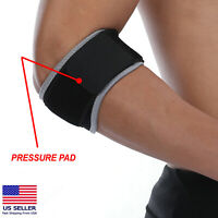 Tennis Elbow Brace Tendonitis Golfers Support Sleeve Arthritis Arm Pain Wrap FDA