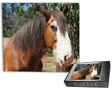 Custom Personalised Gift - 500 PIECE JIGSAW PUZZLE-USING YOUR PHOTO- FREE BOX