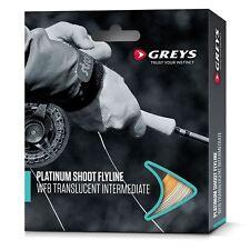 Greys Platinum Shoot Fly Lines / Game Fishing