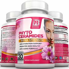BRI Nutrition Phytoceramides - An All Natural Anti Aging Healthy Skin Supplement