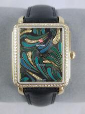 Michele Deco II Bijoux Gold Diamond Watch MW06X01B0083 Refurbished NIB