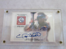 Upper Deck Evolve GARY SHEFFIELD Autographed baseball card 012/200 eS-GS