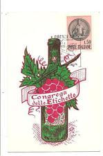 FIRENZE 1979 - Congrega delle Etichette - C.O. ENOTECA INTERNAZIONALE DE RHAM