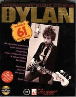 BOB DYLAN Highway 61 INTERACTIVE MUSIC CD-ROM FOR WINDOWS OR MAC (in box) (X08)