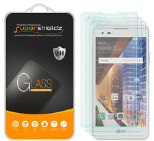 3X Supershieldz LG Tribute HD Tempered Glass Screen Protector Saver