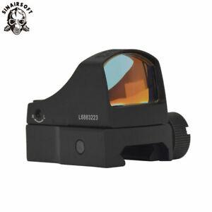 Tactical Micro Reflex Red Dot Sight Scopes AUTO Brightness Airsoft Rifle Scope